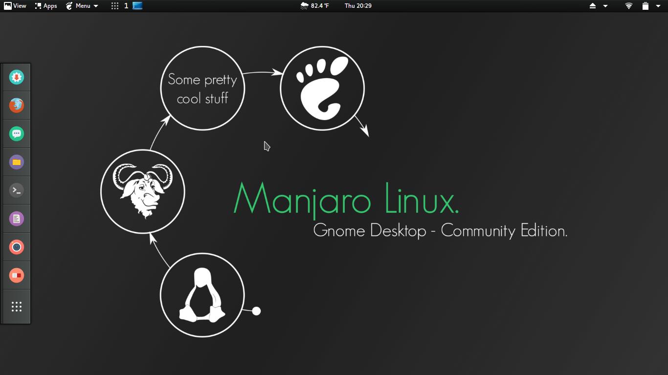 Новости: ВЫШЕЛ MANJARO GNOME 16.08