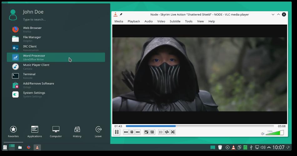 Новости: MANJARO KDE 17.0 (Alpha 1)