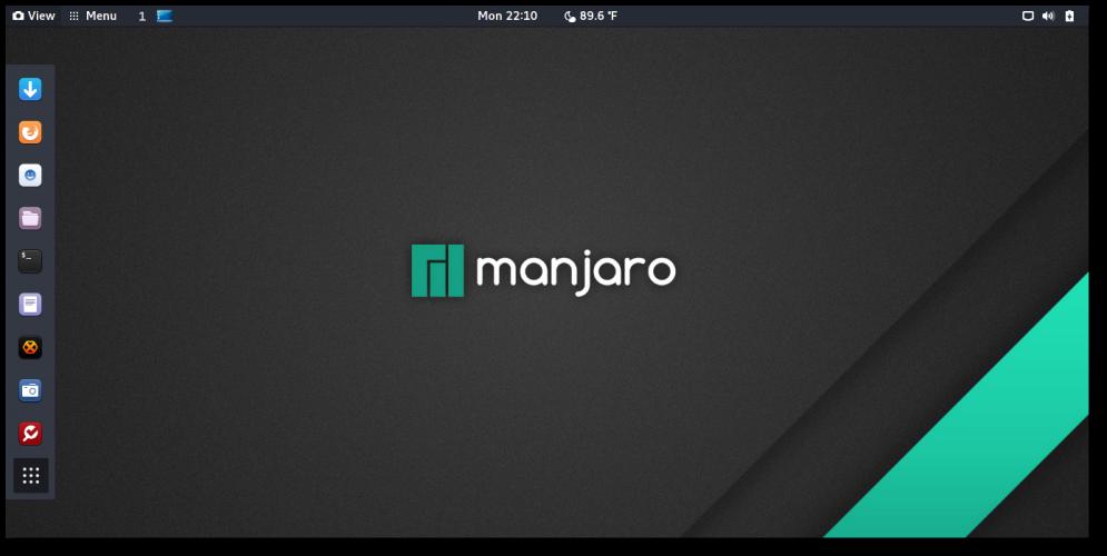 Новости: ВЫШЕЛ MANJARO GNOME 17.0