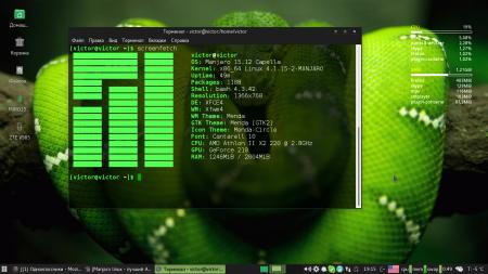Manjaro XFCE Edition: manjaro linux 15.12 xfce 64 bit  кушает оперативу как можно оптимизировать