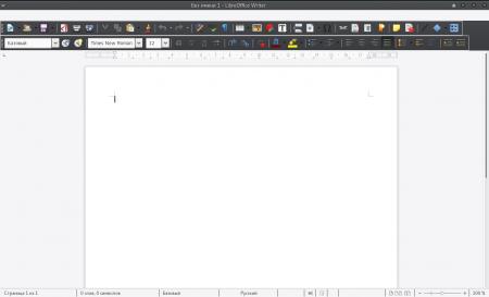 Manjaro XFCE Edition: Баг LibreOffice