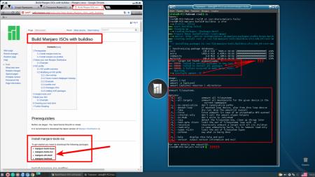 Manjaro XFCE Edition: Создание ISO-образа Manjaro с помощью buildiso.