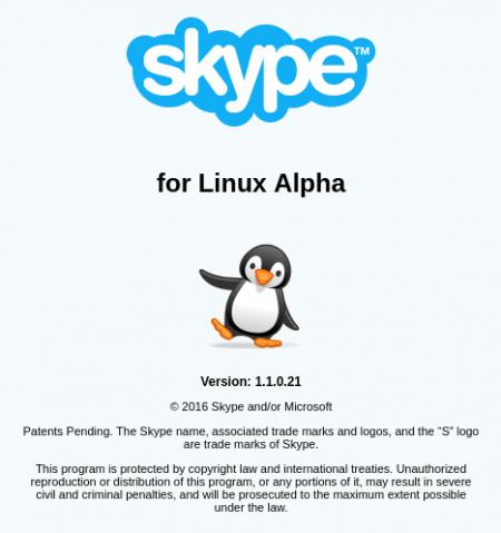 Софт: Skype Alpha для Linux