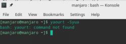 Manjaro KDE Edition: Manjaro 17.1.3 - пропал AUR в Octopi