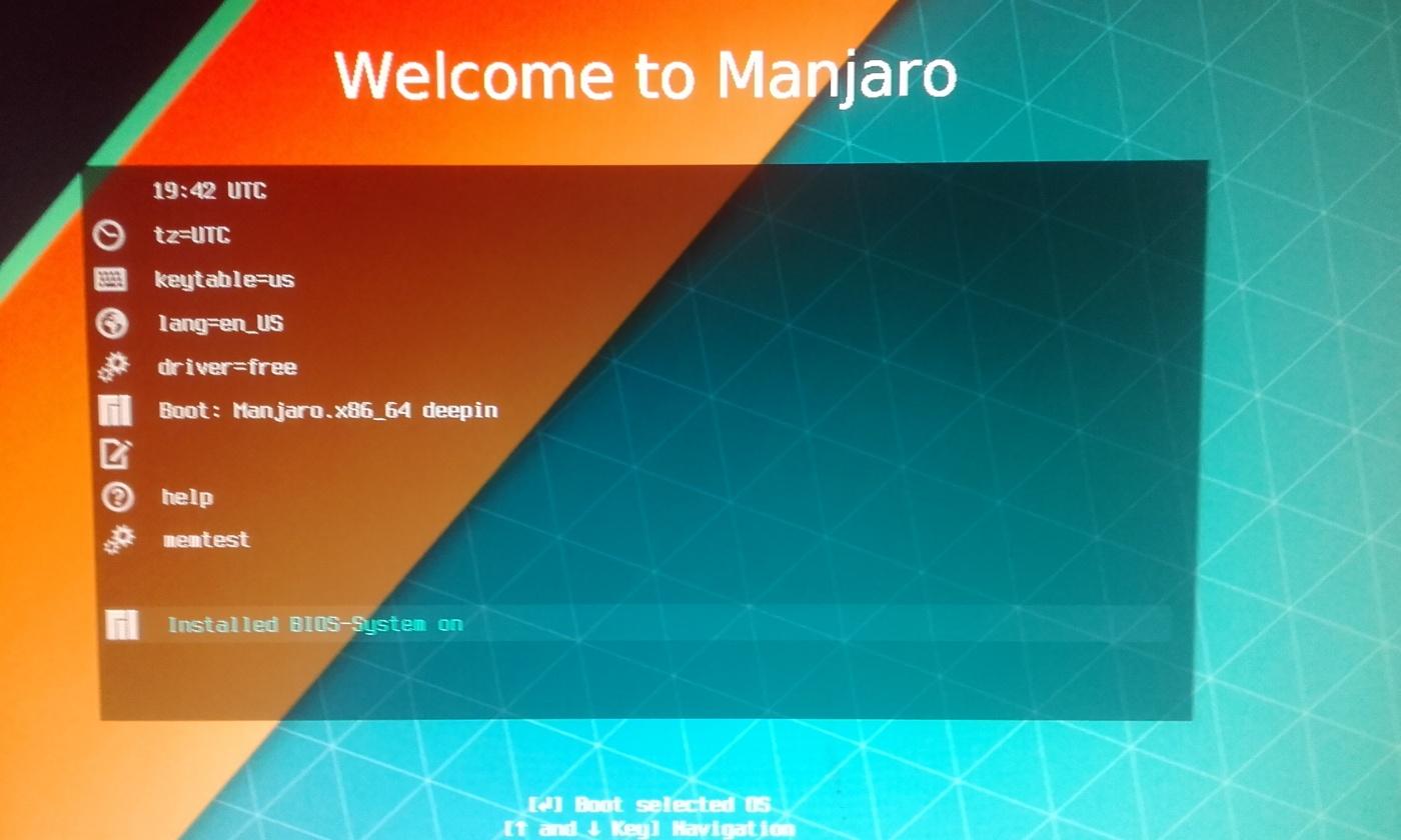 Уголок новичка: Установка Manjaro deepin