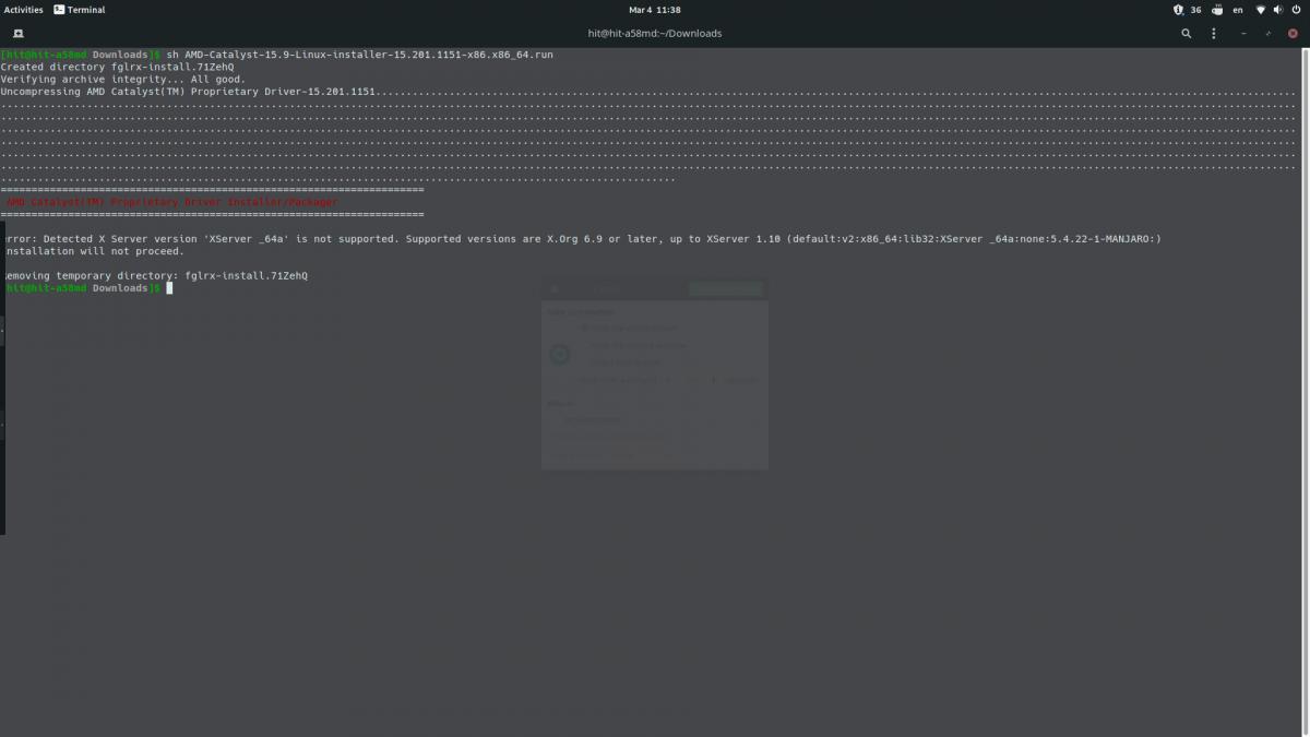 Уголок новичка: Установка графического драйвера AMD