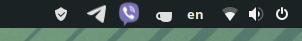 Manjaro GNOME: Вопрос по иконке вайбера