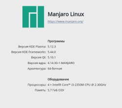 Manjaro KDE Edition: Steam - вредина