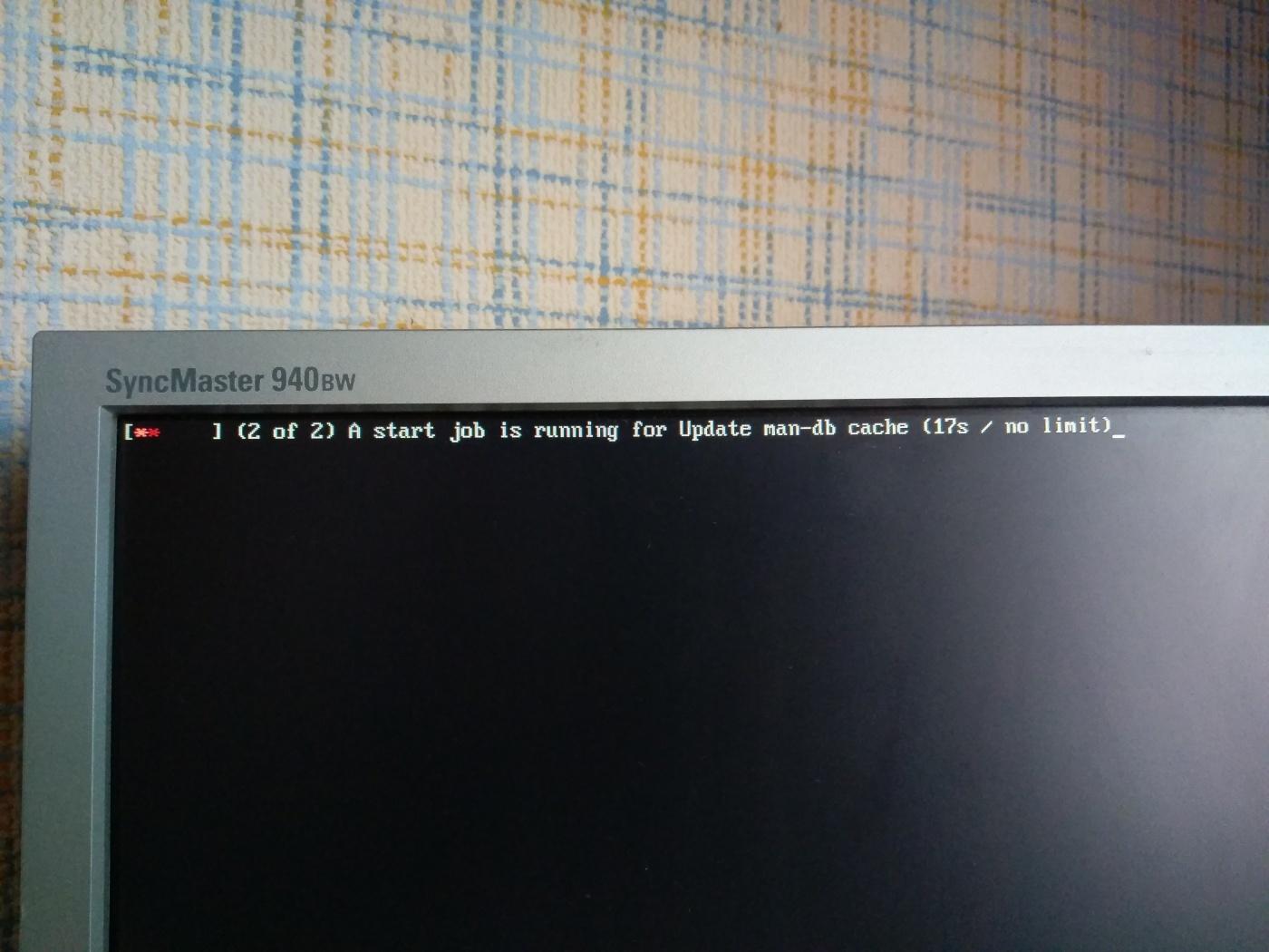 Manjaro KDE Edition: Проблема после установки Manjaro