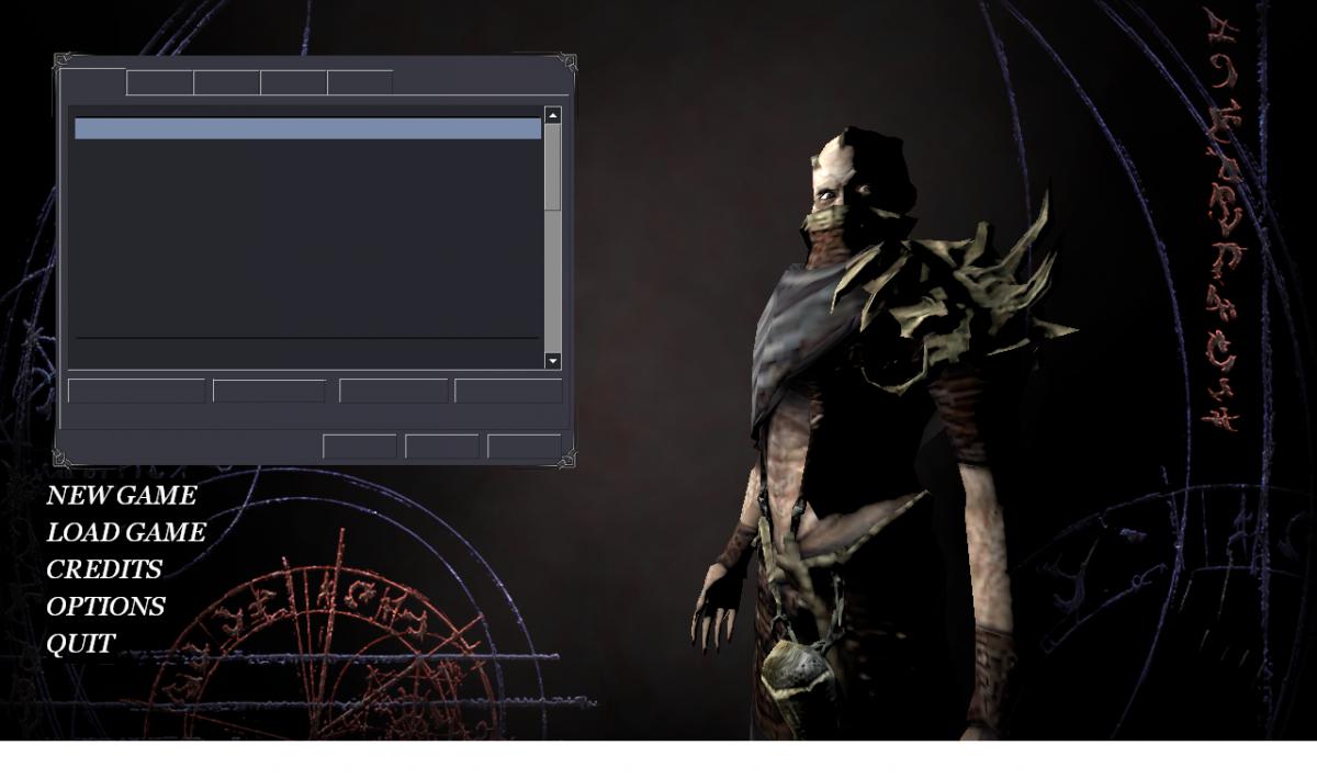 Флуд: Отсутствие текста в окнах меню Dark Messiah of Might and Magic