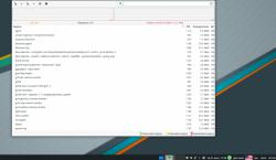 Софт: Потребление ресурсов DE в Manjaro Linux