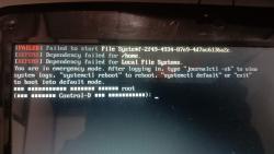 Уголок новичка: Не загружается система. Восстановлению TimeShift не поддается.